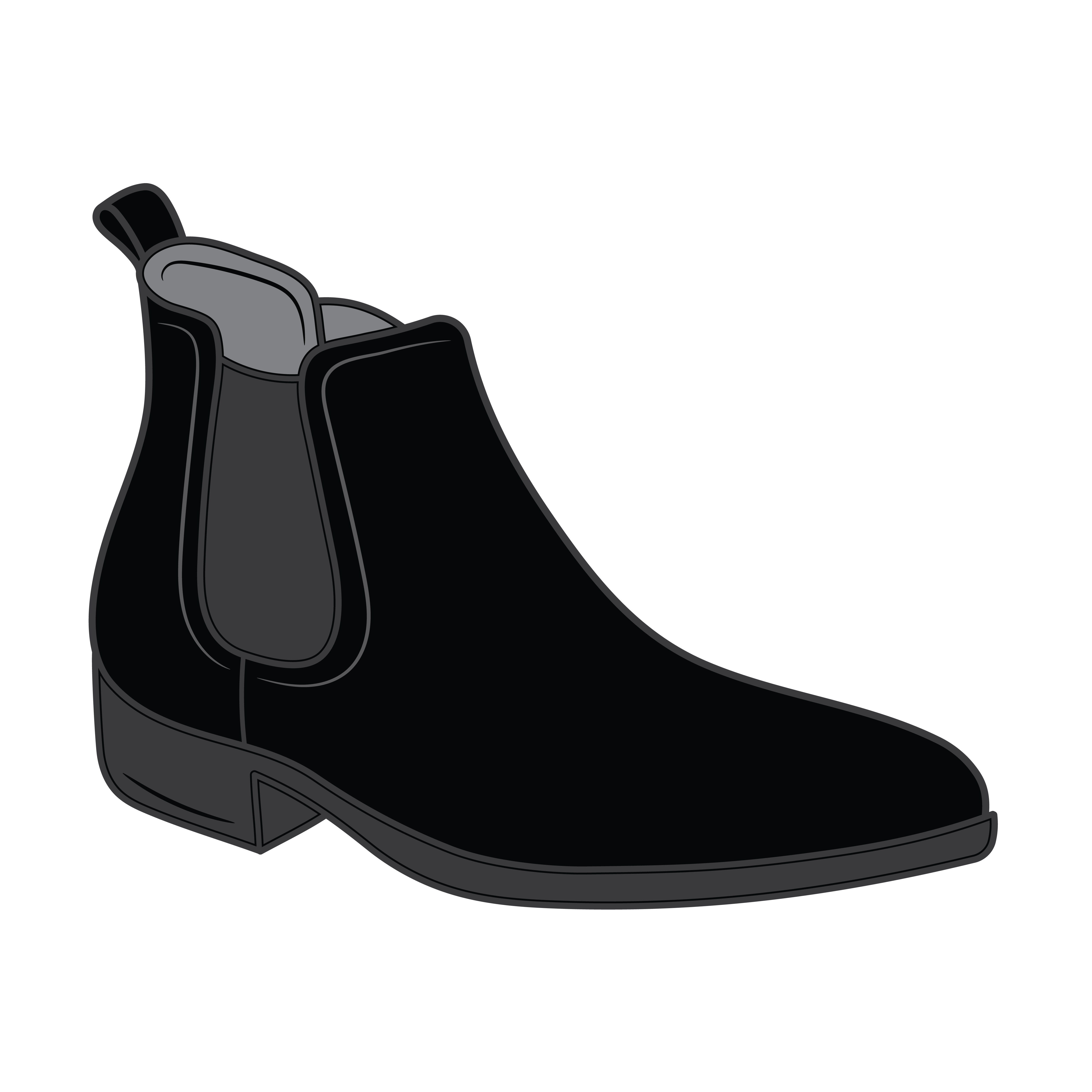 Flat Sole RM Style Boots_Main